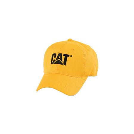 e424cafa8812a Caterpillar - Men's Yellow Trademark Logo Adjustable Snapback Baseball Cap  Hat NEW - Walmart.com