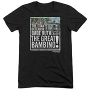 Sandlot The Great Bambino Mens Tri-Blend Short Sleeve Shirt