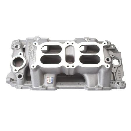 Air Gap Dual Quad Manifold - Edelbrock 7522 RPM Air-Gap Dual-Quad Intake Manifold