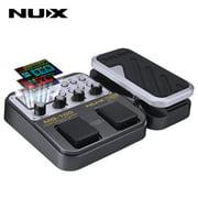 NUX MG-100 Modeling Guitar Processor Guitar Effect Pedal Drum Tuner Recorder 58 Effect 72 Preset Multi-function