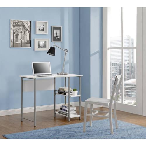 Delicieux Ameriwood Home Garrett Metal Office Desk With 2 Side Shelves, Multiple  Colors   Walmart.com