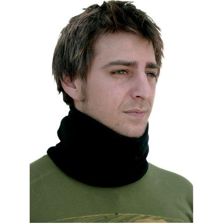 Neck Warmer Set (Zan Headgear Microfleece Neck Warmer (Black,)