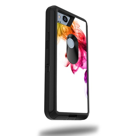 """MightySkins Skin For OtterBox Defender Google Pixel 2 XL 5.5"""" Case - Bright Smoke 