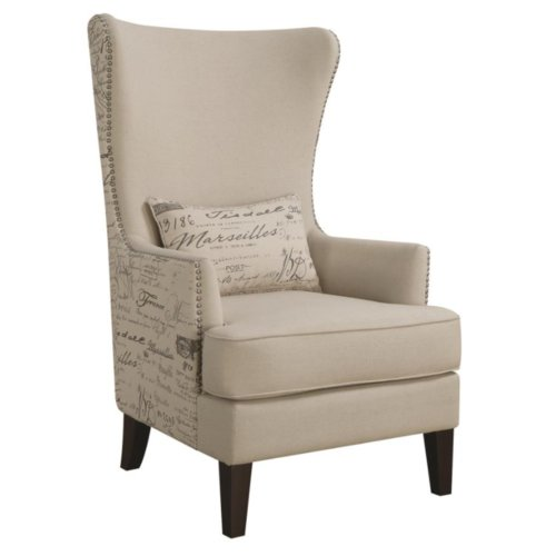 One Allium Way Philson Wingback Chair