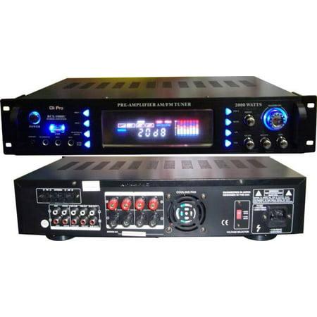 Gli Pro RCX5000USB 2000 Watt Hybrid Professional Karaoke (Best Receiver Under 2000)