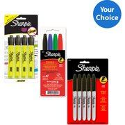 Sharpie Essentials Highlighter and Marker Your Choice 3 Pack Bundle
