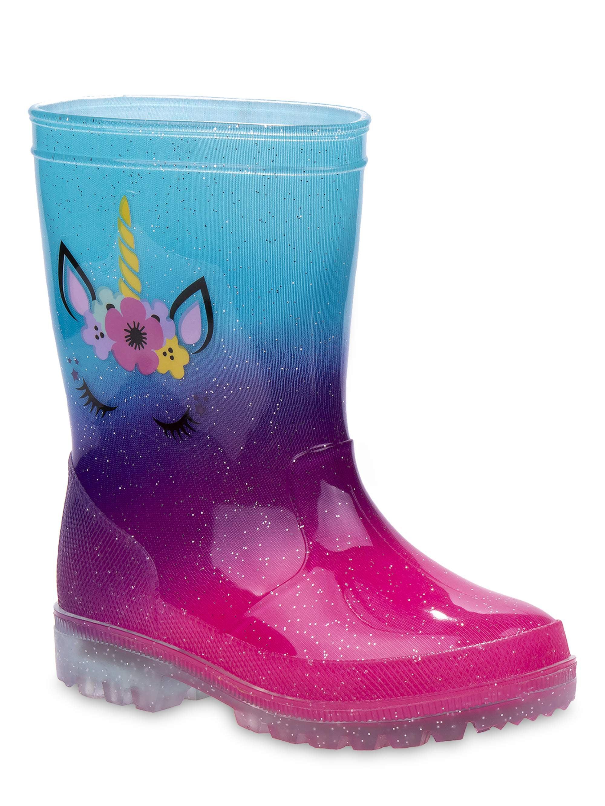 Josmo Ombre Unicorn Fashion Rain Boots