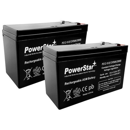 12V 9Ah APC UPS Computer Back Up Power Battery - 2 Pack thumbnail