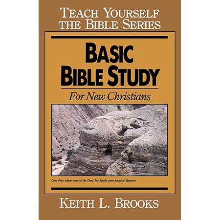Basic Bible Study-Teach Yourself the Bible Series : For New