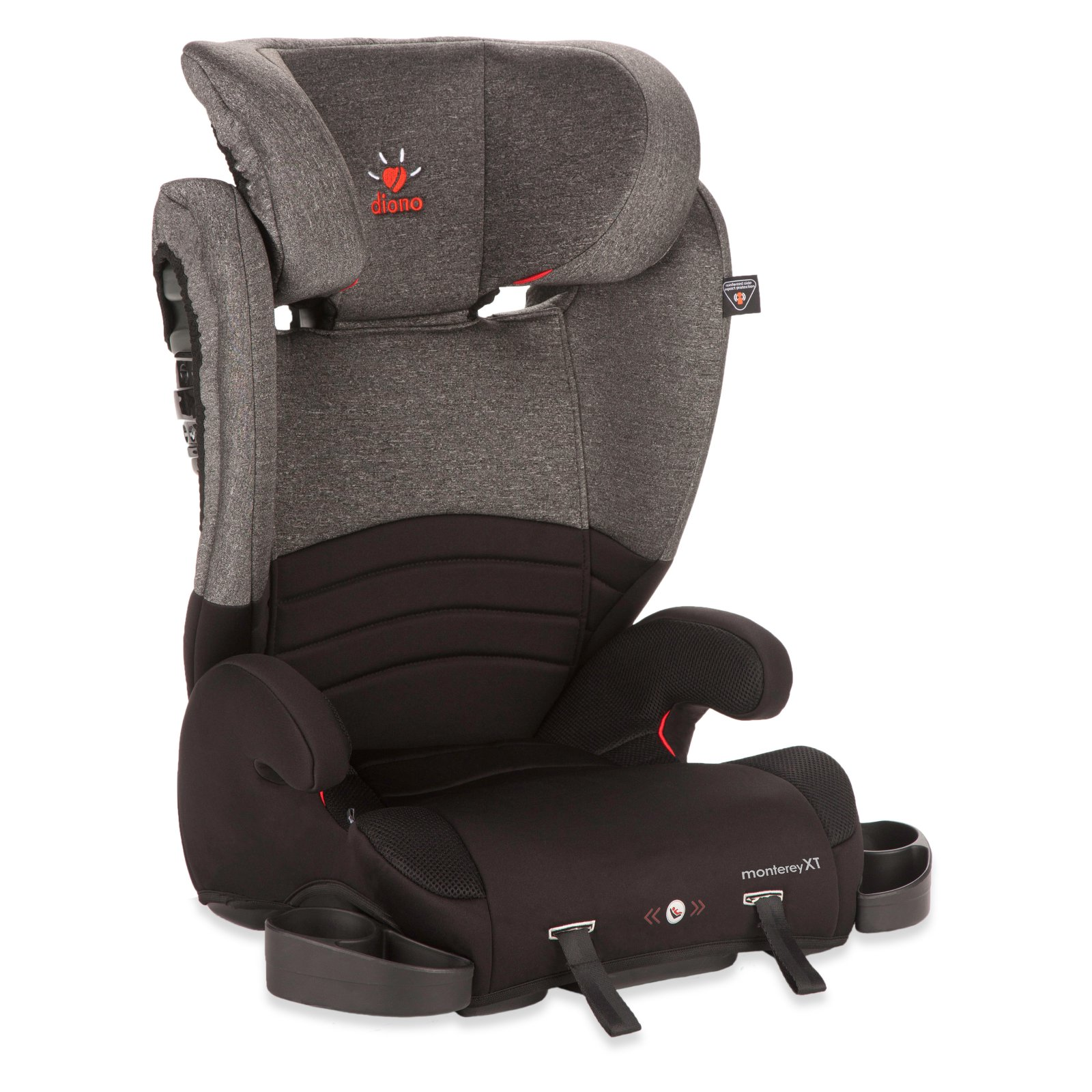 Diono Monterey XT High Back Car Booster Seat Heather by Diono