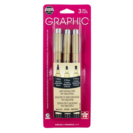Pigma Black Graphic Drawing Pen