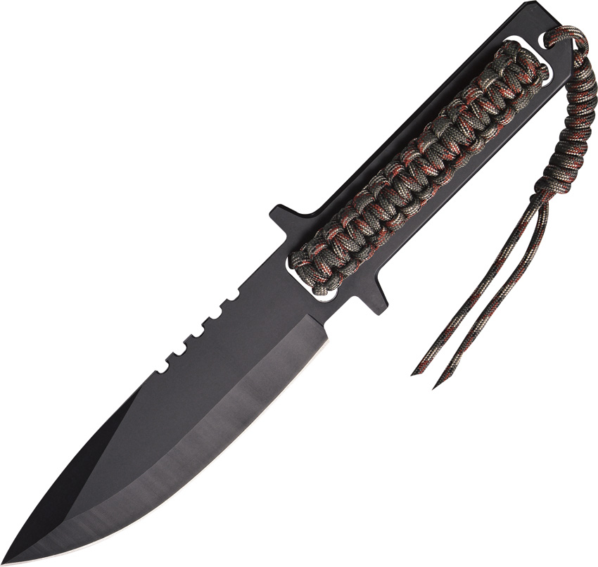 Paracord Night Spear with Sheath Multi-Colored