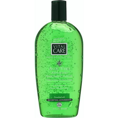(2 pack) Vital Care® Aloe Vera Anti-Aging Moisturizing Skin Gel 20 fl. oz. Bottle Aloe Vera Face Gel