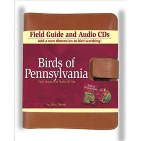Image of Birds of Pennsylvania Field Guide and Audio Set - (Birds Of...) by Stan Tekiela (Mixed media product)