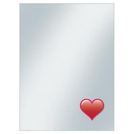 Deck Protector-Sleeve Covers Emoji Heart, Pack of 50 - image 1 de 1