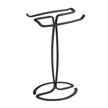 Better Homes & Gardens Axis Bronze Fingertip Towel Holder Stand, 1 Each ()