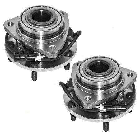 - Pair Set of Front Wheel Hub Bearings Replacement for Chevrolet GMC Isuzu Pickup Truck SUV 4-Wheel Drive 12413045
