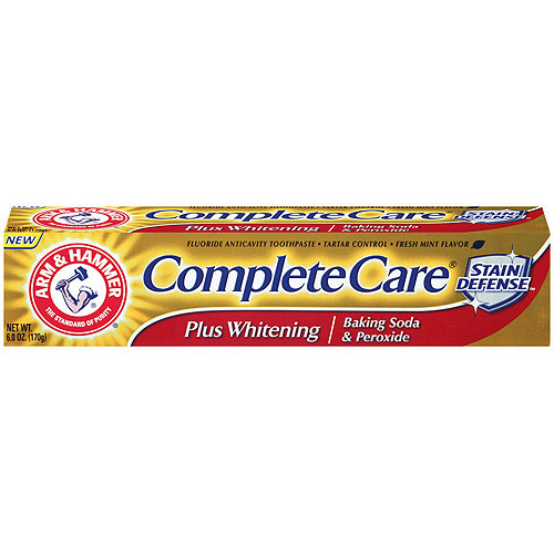 Arm and Hammer Complete Care Stain Defense Toothpaste with Baking Soda & Peroxide 6 oz