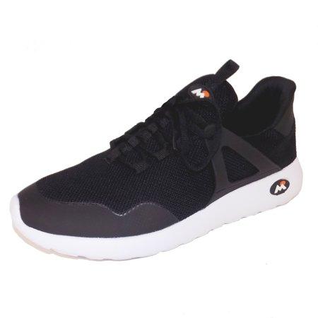 Running In The Dark Gear (Mountain Gear Visionary Mens Black Athletic Running Sneaker)