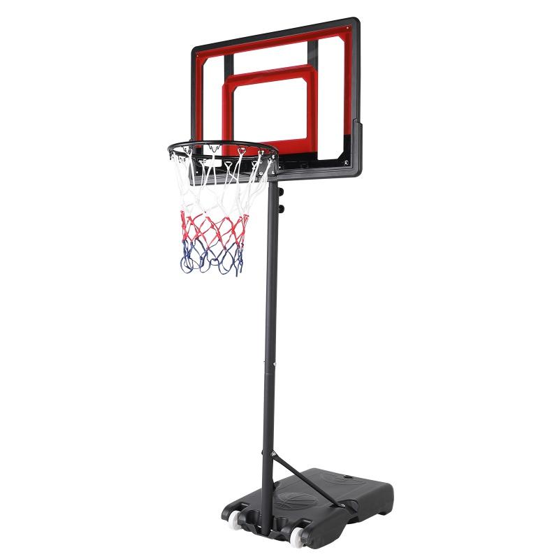 Details about  /Portable Basketball Hoop 44/'/' Impact Backboard Net Classic Rim Heavy Duty Base