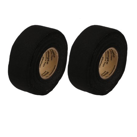 2pcs Black 32mm X 12m X 3mm Insulation Adhesive Cloth Tape Car Wire