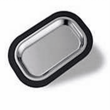 Brushed Stainless Steel Insert - Service Ideas OT11SS Thermo Plate Insert, Brushed Stainless Steel, 11