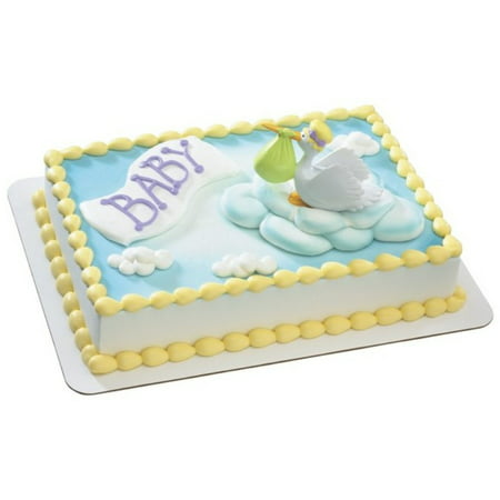 Special Delivery Stork DecoSet Cake Decoration