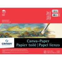 """Canson Foundation Series Canva-Paper Pad, 12"""" x 16"""""""