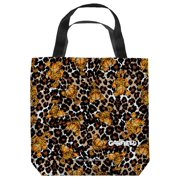 Garfield Wild Cat Tote Bag White 18X18