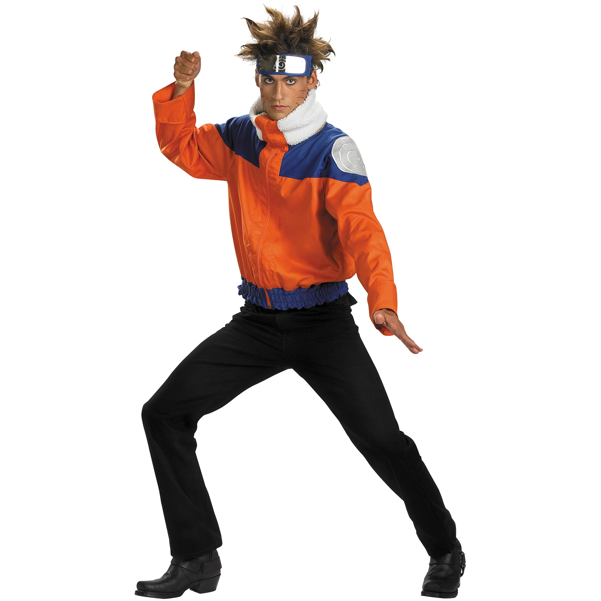 Halloween Costumes For Kids Party City | Naruto Deluxe Jacket Child Halloween Costume Walmart Com
