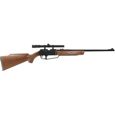 Daisy Powerline 880 Air Rifle with Scope, .177 (Best P90 Airsoft Gun)