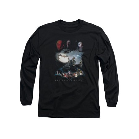 Batman: Arkham Knight Video Game Villain Storm Adult Long-Sleeve T-Shirt - Batman Female Villains