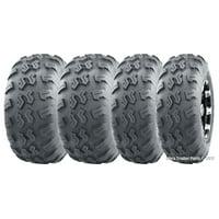 Set 4 WANDA ATV UTV Tires 22x7-10 22x7x10 & 22x10-10 22x10x10 4PR