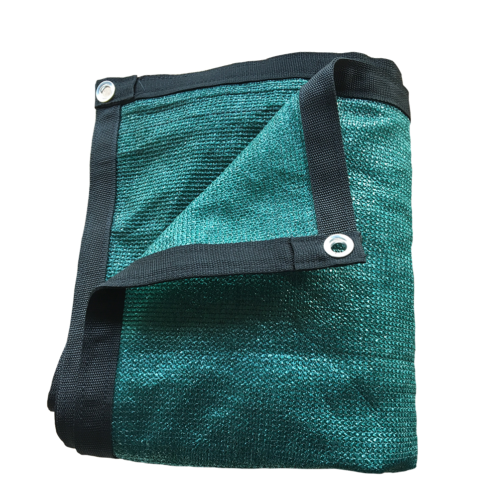 Shatex Outdoor Shade Cloth Reinforce The Edge with Grommets for Pergola/Patio/Porch/Backyard/Garden 6x10ft Frostgreen
