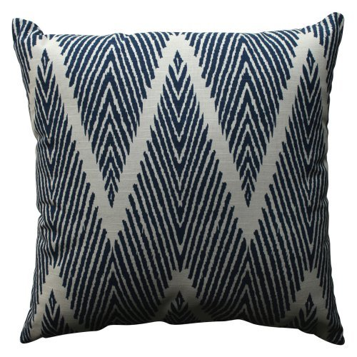 Pillow Perfect Bali Zig Zag Throw Pillow