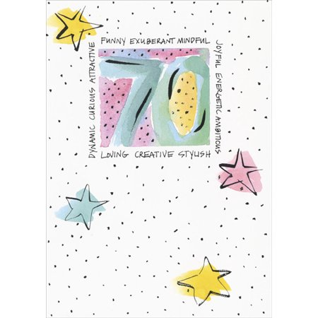 Recycled Paper Greetings 70th Birthday Seventieth Birthday Card](Seventieth Birthday Ideas)