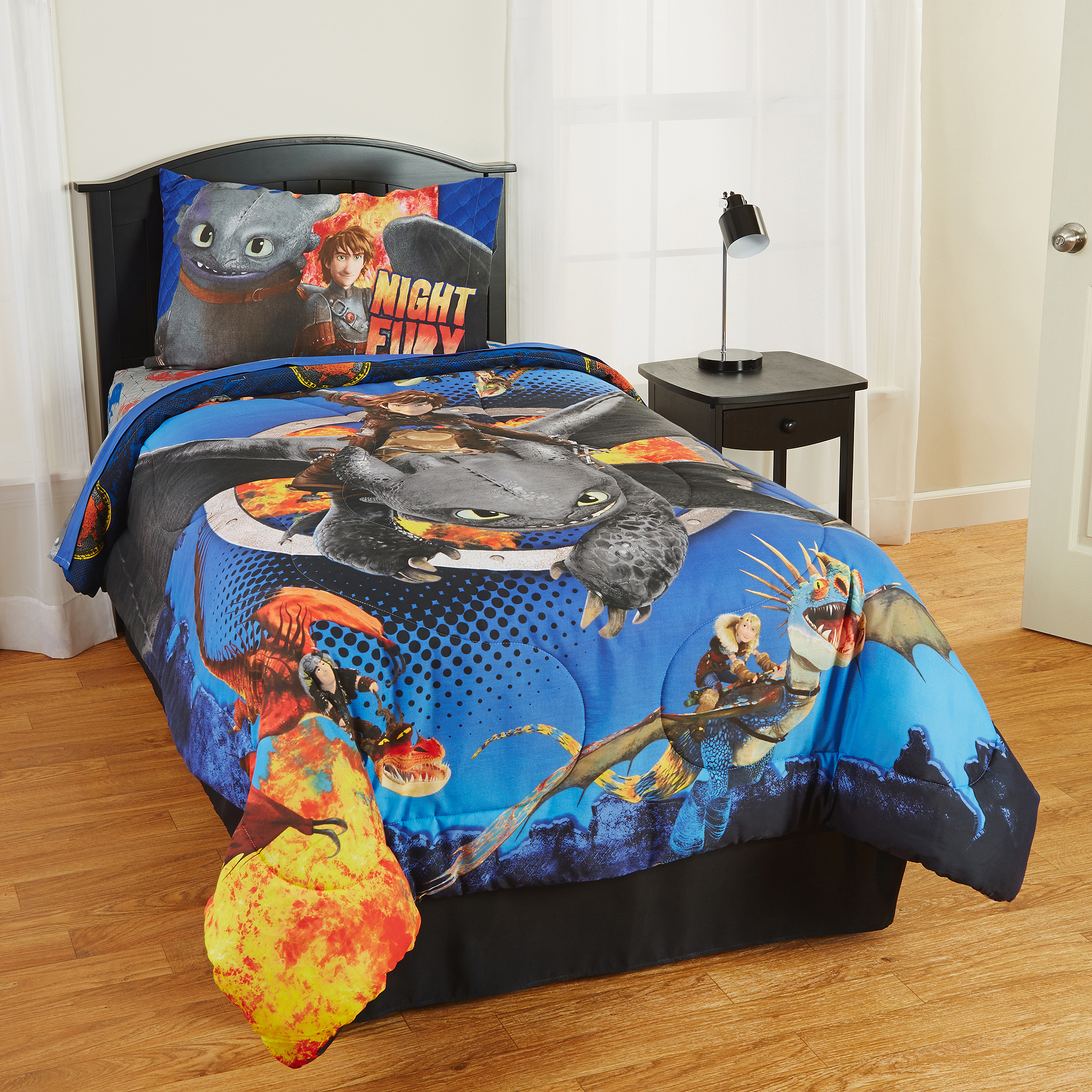 Franco How To Train Your Dragon 2 Bedding Comforter, Twin