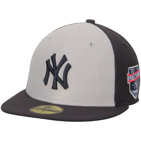 buy popular 9b598 28d99 New York Yankees New Era Old-Timer s Day Diamond Era 59FIFTY Fitted Hat -  Gray Navy - Walmart.com