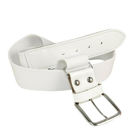 Gold Baseball Belt (TCK Adjustable Elastic Belts Youth Adult - Baseball, Fastpitch, Softball (White, Large/Adult - Waist)