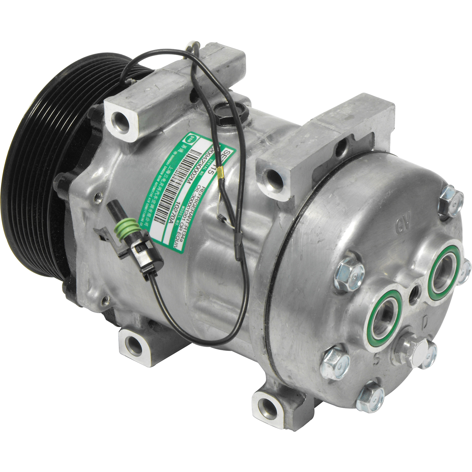 New A/C Compressor and Clutch CO 4028C - 4028