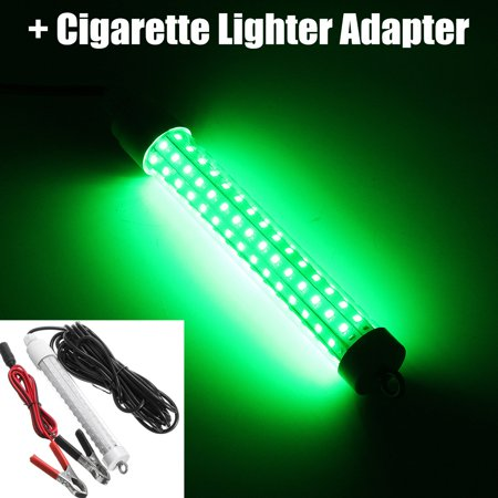 12V 120 LED 1000 Lumens Lure Bait Finder 10.5W Night Fishing Finder Lamp Light Crappie Shad Boat LED Submersible Deep Drop Underwater Light with Battery Clip 19.7FT Power Plug thumbnail