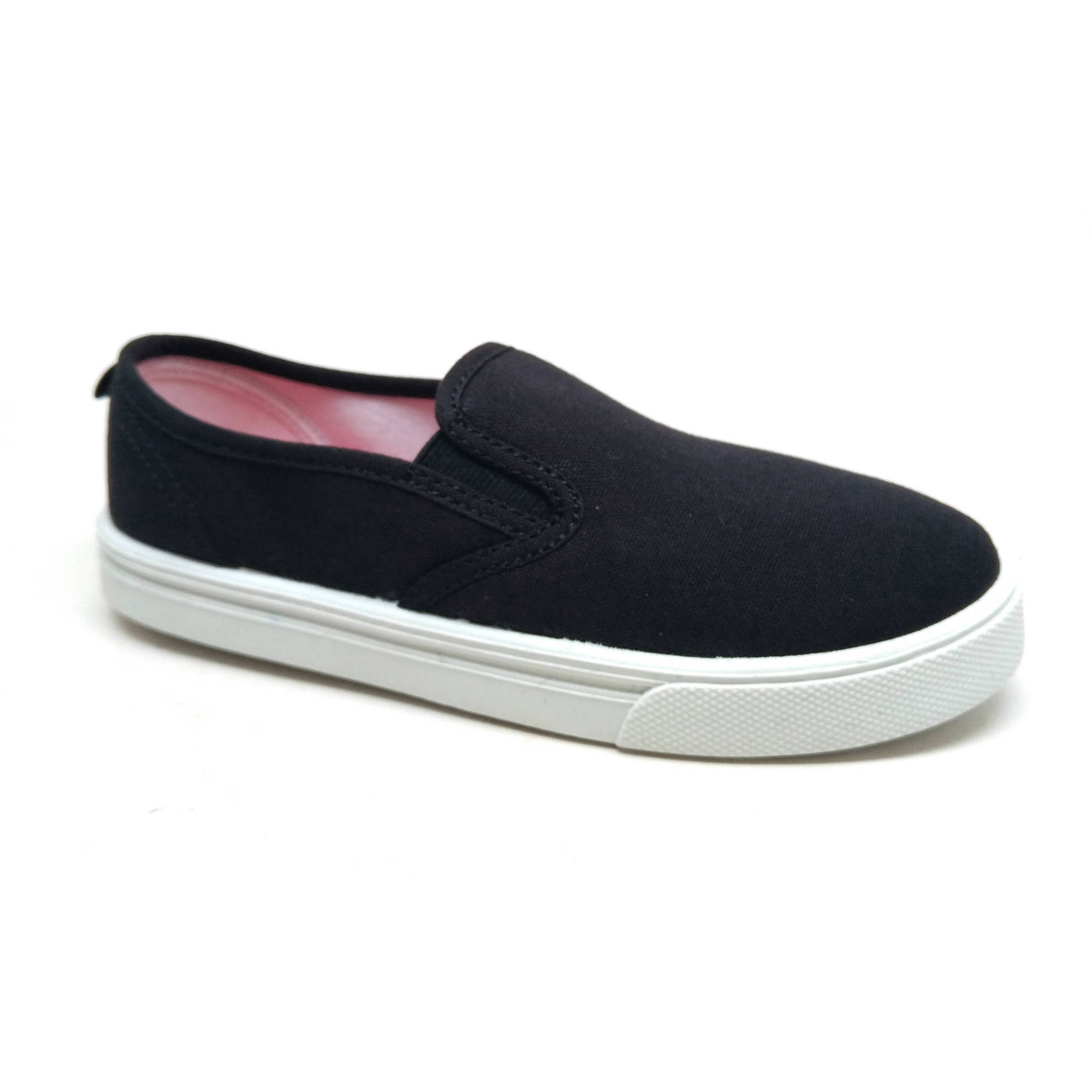 Faded Glory Boys' Casual Canvas Slip-on Shoe by
