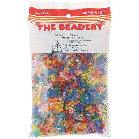 transparent 900 11mm multi Multi Tri Bag By Piece Per Bead 11mm qPOw8Z