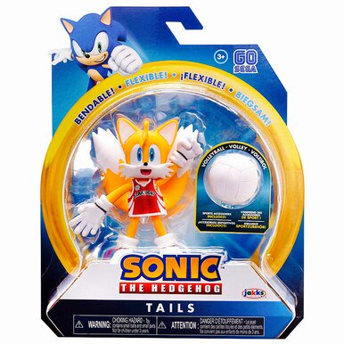 Sonic The Hedgehog Tails With Volleyball 4 Inch Action Figure Walmart Com Walmart Com