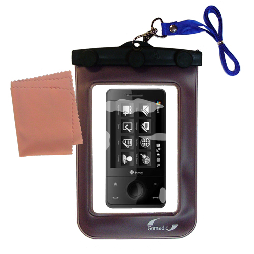 Gomadic Clean and Dry Waterproof Protective Case Suitablefor the HTC 7 Pro CDMA to use Underwater