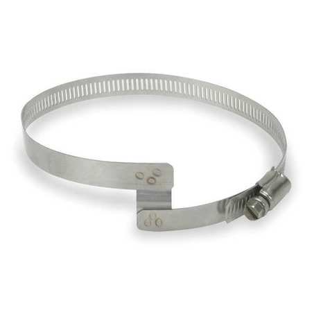GRAINGER APPROVED Bridge Clamp,Duct Hose,ID 9-12In, 0627-1200-0001