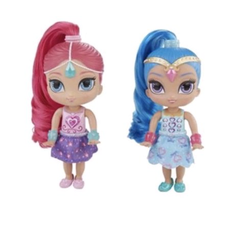 Fisher-Price Shimmer and Shine Sweetie Genies 2 Pack (Pink Shimmer And Shine)