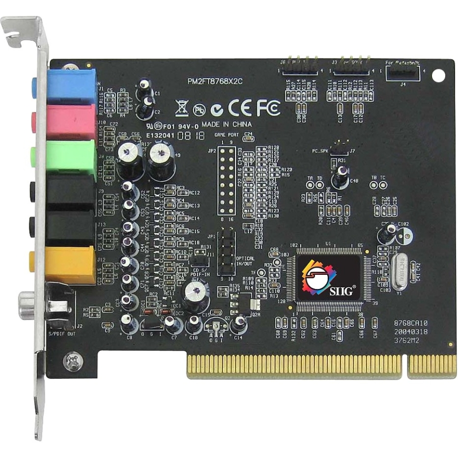 SIIG SoundWave 7.1 Channel PCI Sound Card