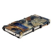 Stainless Steel Camo iNoxCase for the iPhone 4