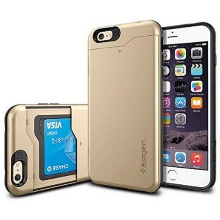 sports shoes 05ba2 00357 Refurbished iPhone 6s Plus Case, iPhone 6 Plus Case Wallet, Spigen [CARD  SLOT] Slim Armor CS Case for iPhone 6s Plus (2015) / iPhone 6 Plus